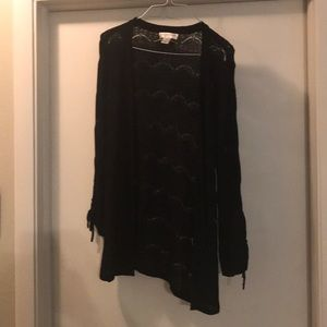 NWOT Christopher & Banks black cardigan in PM